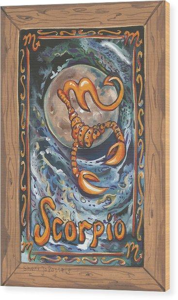 My Scorpio Wood Print