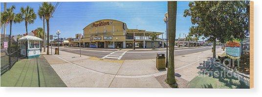 Myrtle Beach Pavilion Building Wood Print