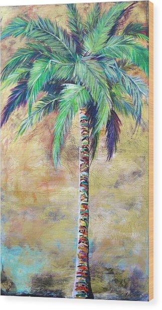 Mystic Palm Wood Print