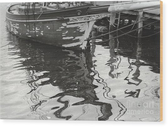 Mystic Reflections Wood Print by Andrea Simon