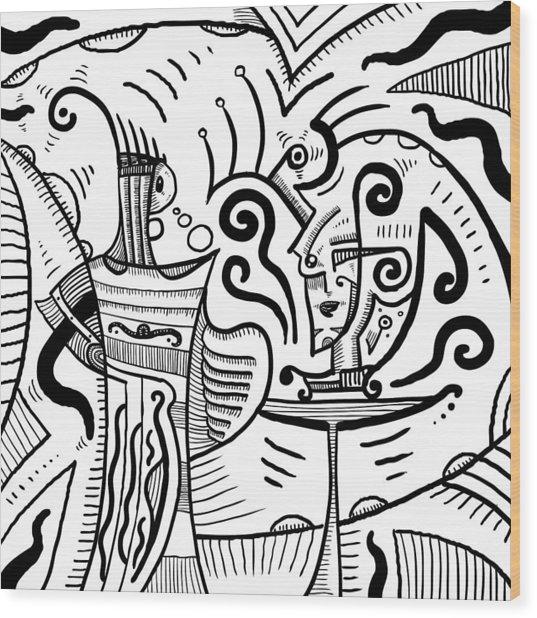 Mystical Powers - Surrealism Wood Print