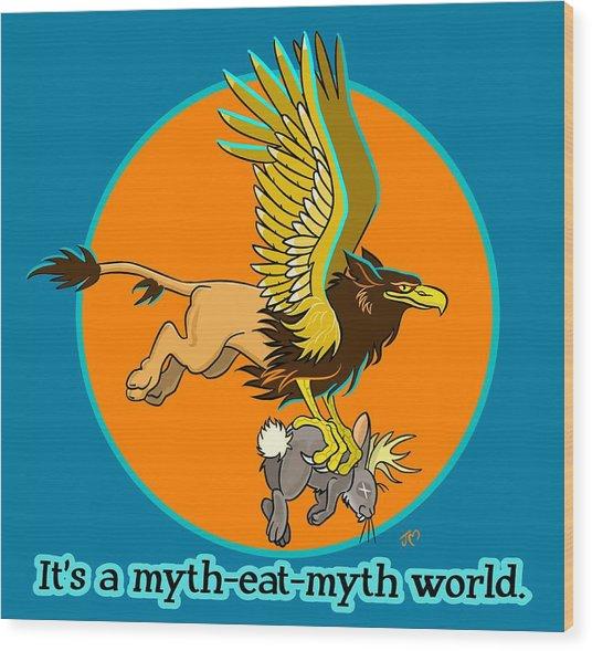 Mythhunter Wood Print