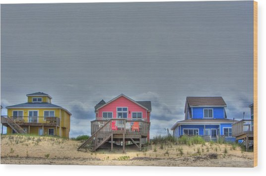 Nags Head Doll Houses Wood Print