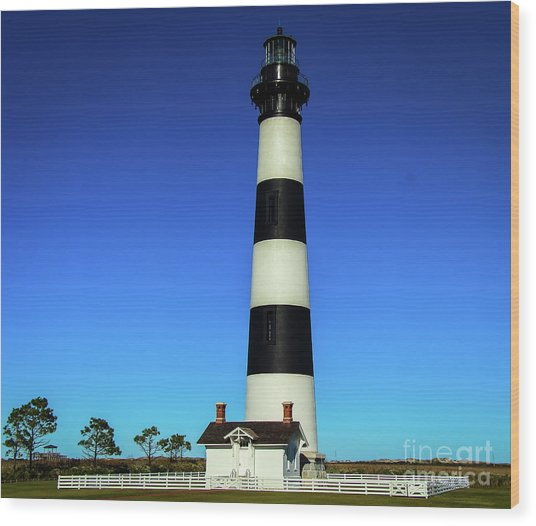 Nags Head Lighthouse Wood Print