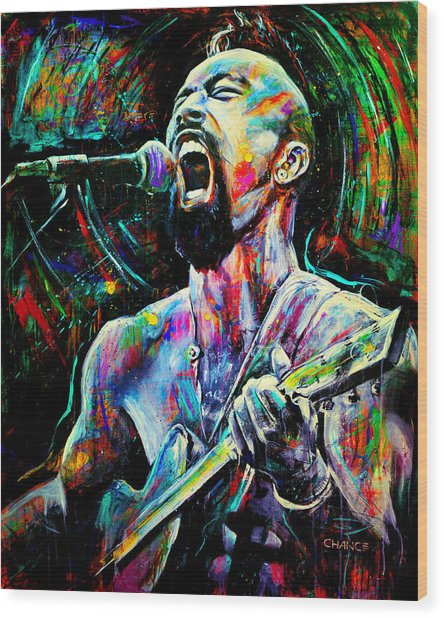 Nahko Bear Wood Print