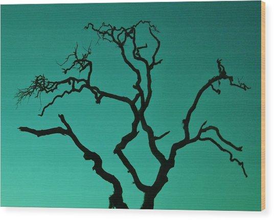 Naked Wood Print