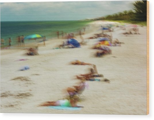 Naples Florida Wood Print