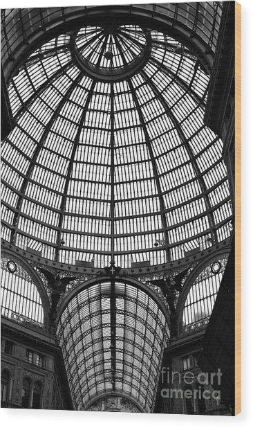 Naples Galleria Wood Print by John Rizzuto