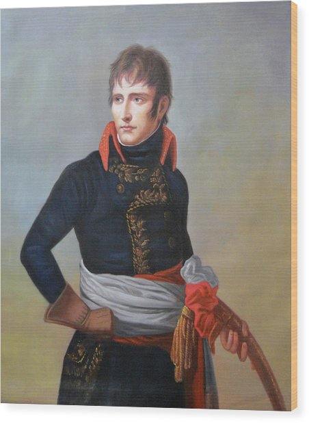 Napoleon Bonaparte As First Consul Wood Print