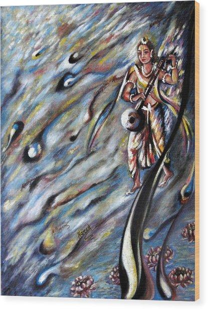 Narada Muni Wood Print