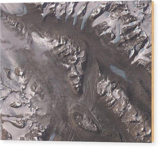 Nasa Image-dry Valleys, Antarctica-2 Wood Print