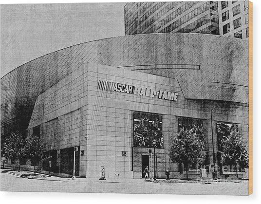 Nascar Hall Of Fame 2 Wood Print