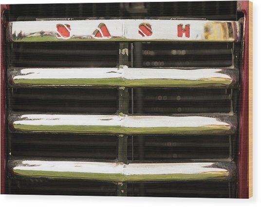 Nash Grill Wood Print