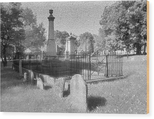 Nashville City Cemetery - 1 Wood Print by Randy Muir
