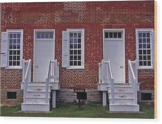 Natchez Trace Gordon House - 1 Wood Print by Randy Muir