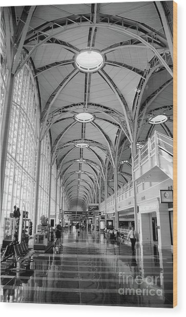 National Airport D C A Wood Print