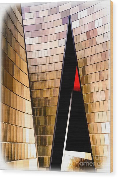 National Music Centre Canada No. 1 - Dynamic Wood Print by Bob Lentz