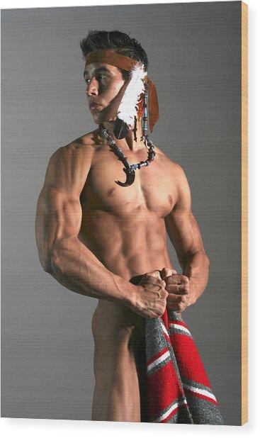 Native American I Wood Print by Dan Nelson