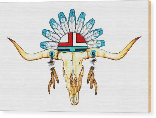 Native Guide Wood Print