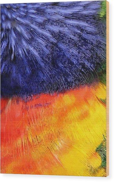 Natural Painter Wood Print
