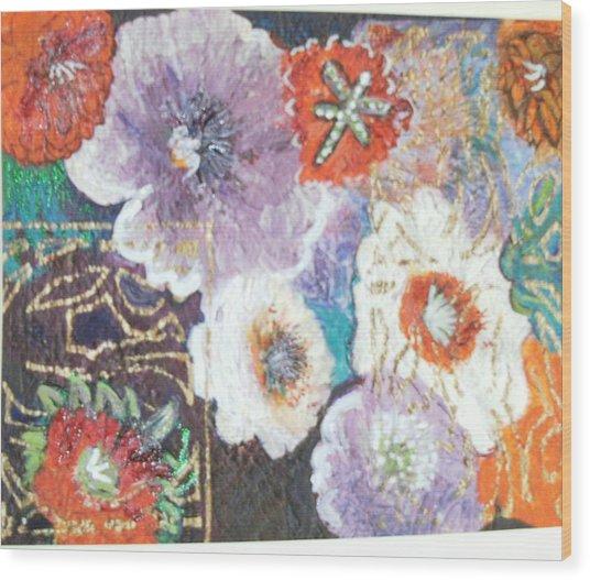 Naturally Rich Wood Print by Anne-Elizabeth Whiteway