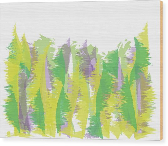 Nature - Abstract Wood Print