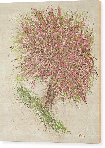 Nature's Fireworks Wood Print