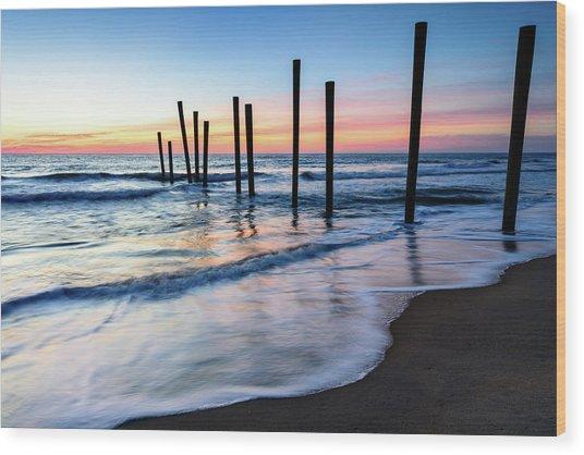 Nautical Morning Wood Print