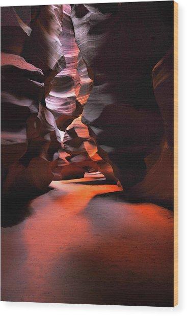 Navajo Magic Antelope Canyon Wood Print