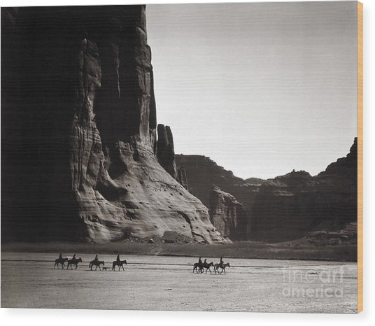 Navajos Canyon De Chelly, 1904 Wood Print