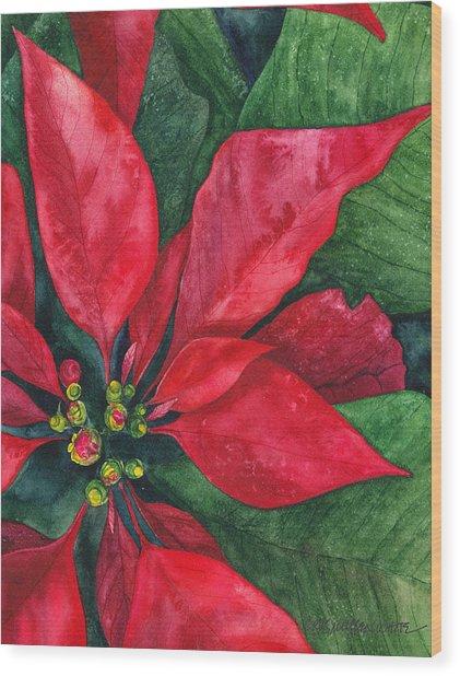 Navidad Wood Print