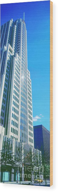 Nbc Tower Wood Print