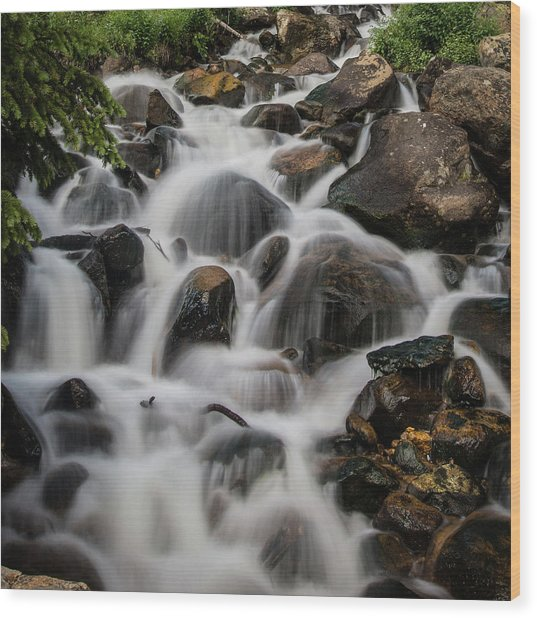 Near Berthoud Wood Print by John Strong
