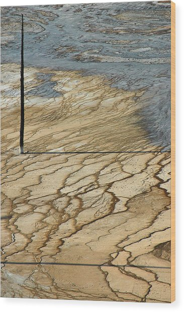 Near Grand Prismatic Wood Print