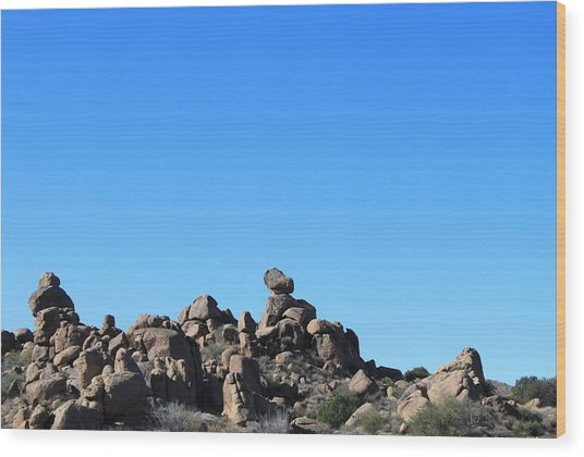 Wood Print featuring the photograph Near Wickenburg, Az by Antonio Romero