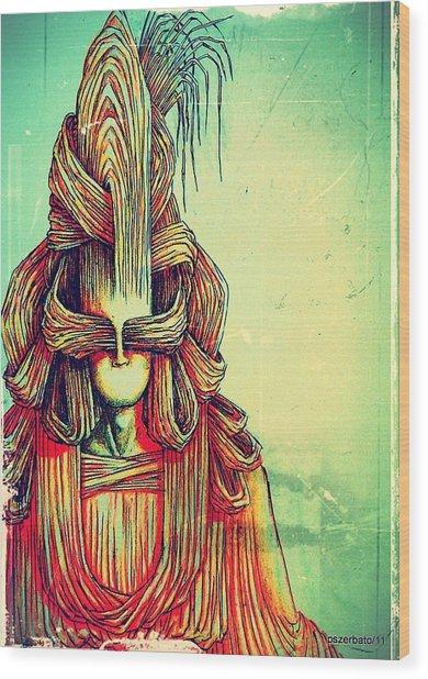 Nearer To You Wood Print by Paulo Zerbato