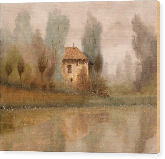 Nebbiolina Autunnale Wood Print