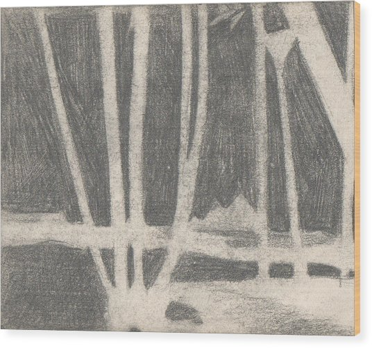 Negative Nile Wood Print by T Ezell