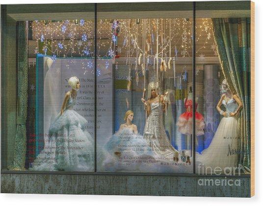 Neiman Marcus Beverly Hills Wood Print