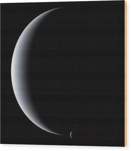 Neptune And Triton Wood Print