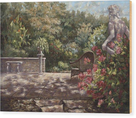 Neptunes Garden Wood Print