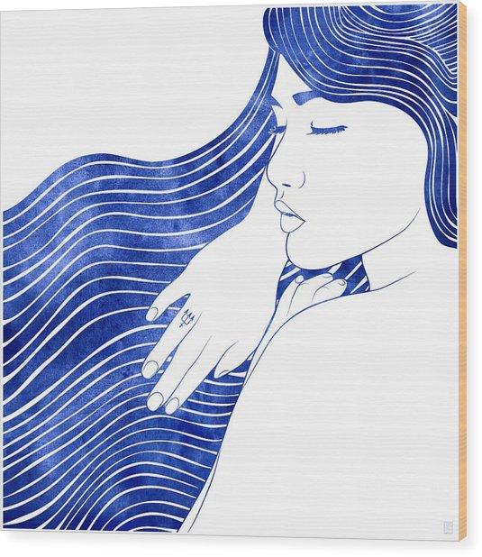 Nereeid Xxv Wood Print