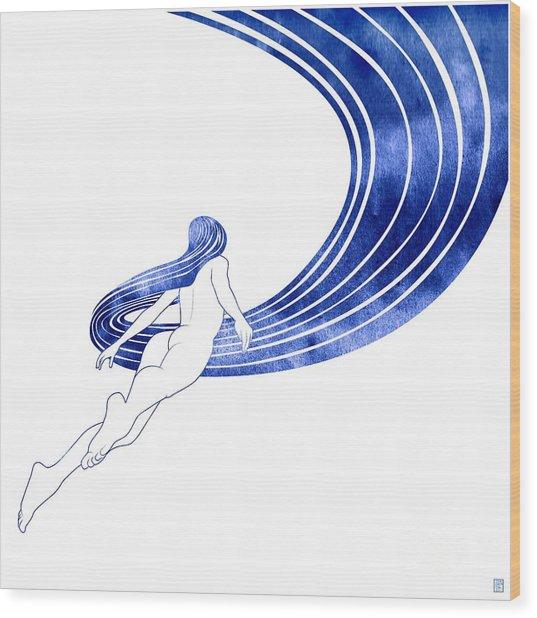 Nereid Xiii Wood Print