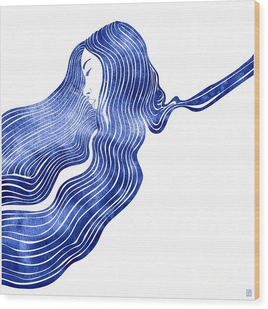 Nereid Xiv Wood Print