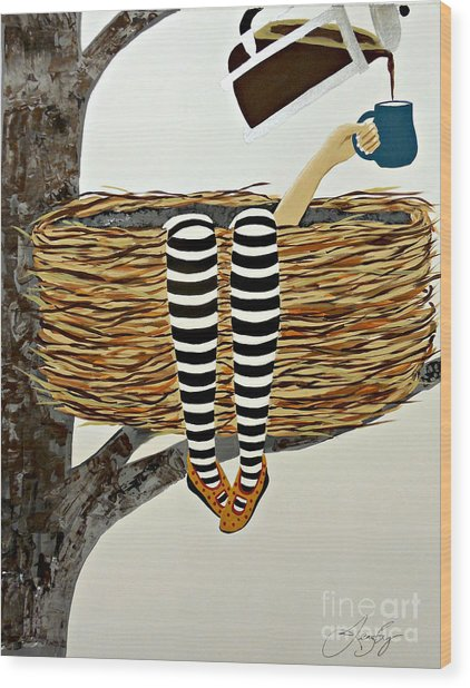 Nest Service Wood Print