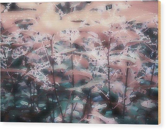 Nettle 63 Wood Print