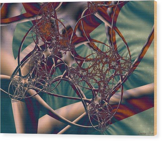 Neuro Imagery Wood Print