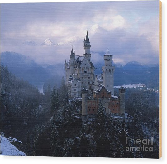 Neuschwanstein Wood Print