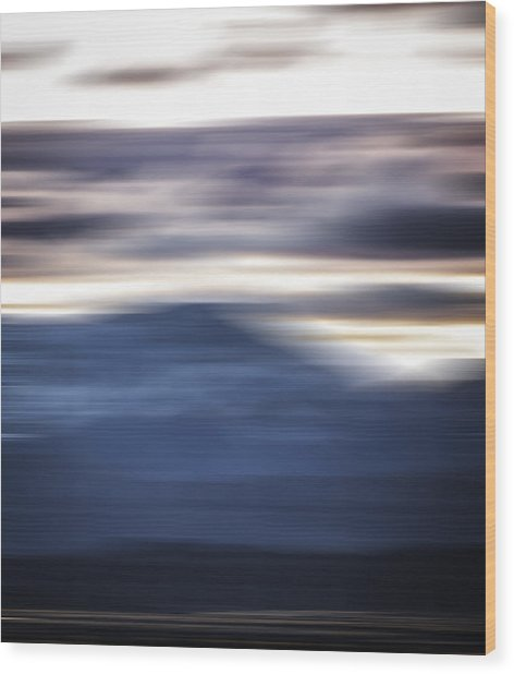 Nevada Blur #1 Wood Print by Rob Worx