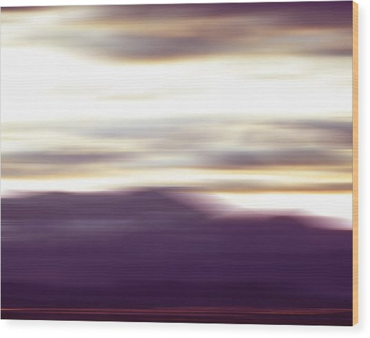 Nevada Blur #2 Wood Print by Rob Worx